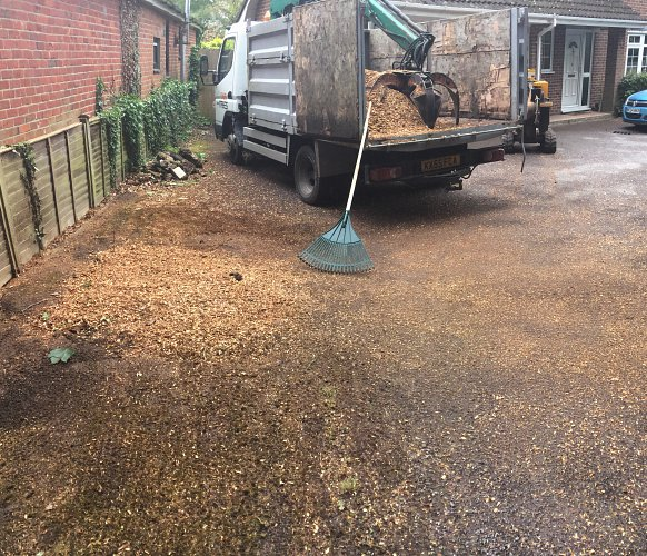 Tree Stump Removal, Romsey, Hampshire - after photo